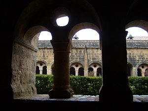 Le Thoronet Abbey - The cloister