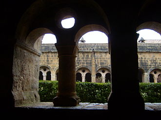 Le Thoronet Abbey - The cloister