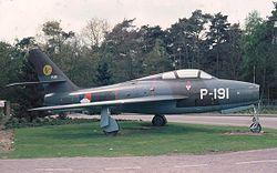 F-84F της Ολλανδικής αεροπορίας