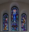 Thurles Cathedral East Transept Triple Upper Window Our Lady's Assumption 2012 09 06.jpg