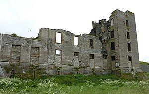 Thurso Castle - Thurso Castle ruins