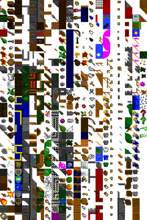 Tile-based video game - An oblique texture atlas in the style of Ultima VI