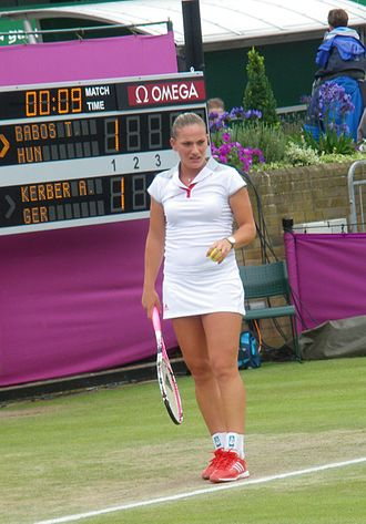 Hungary at the 2012 Summer Olympics - Tímea Babos in women's tennis singles.