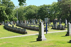 Fairview Cemetery, Halifax, Nova Scotia - Titanic victims section