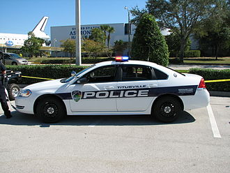 Titusville Police Department - Image: Titusville Police New Markings