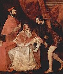 Portrait de Paul III avec ses neveux
