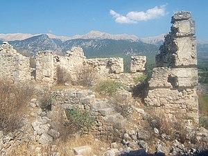 Tlos - Remains of the Ottoman castle