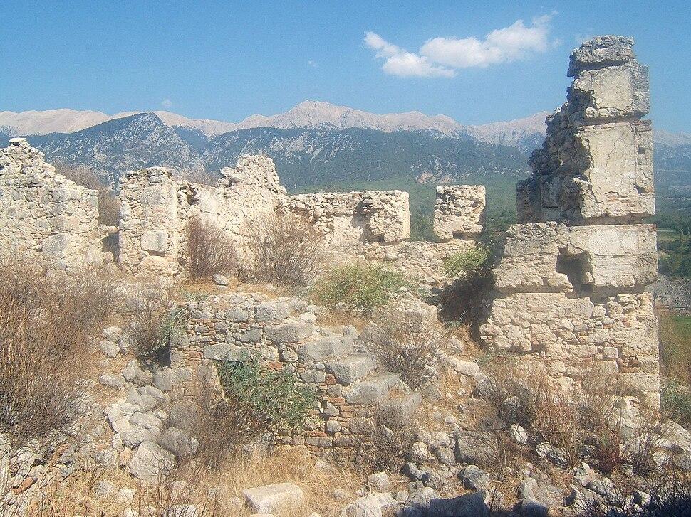 Tlos ruins Turkey2