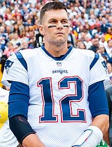 Brady en uniforme