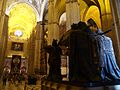 Tomb of Columbus in Seville Cathedral - 2013.07 - panoramio.jpg
