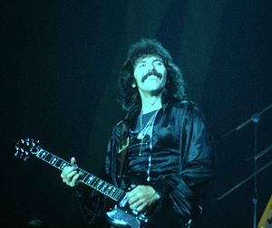 Tony Iommi - Iommi playing with Black Sabbath in 1978.