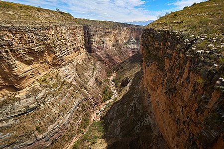 Canyon of ToroToro in Bolivia