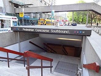 Underground city - PATH entrance, Toronto, Ontario