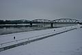 Toruń river and bridge in the snow.jpg