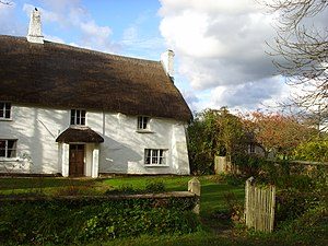 Arvon Foundation - Totleigh Barton Manor, Sheepwash, Devon, one of the creative writing centres of the Arvon Foundation.