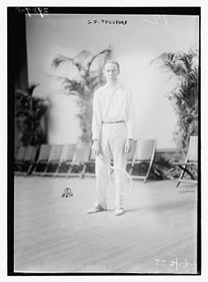 Gustave F. Touchard American tennis player