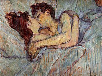 Le Lit (Toulouse-Lautrec) - Image: Toulouse Lautrec In bed the kiss