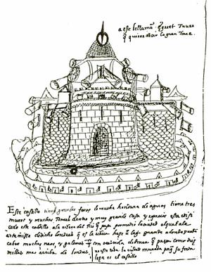 Bernardino de Escalante - Image: Tower of London by Bernardino de Escalante