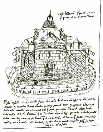 Bernardino de Escalante - Image: Tower of London by Bernardino de Escalante