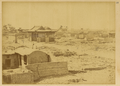 Town of Anxi on the Edge of the Gobi, Ruins Surrounded with an Earthen Wall. Xinjiang, China, 1875 WDL2067.png