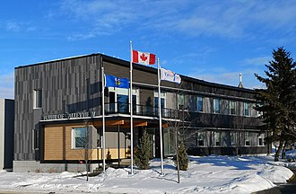 Valleyview, Alberta - Town Hall