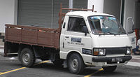 Toyota Hiace (second generation, first facelift) (pickup) (front), Serdang.jpg