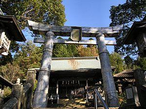 Arita, Saga - Torii at Tozan Shrine