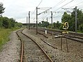 Track junction near Rossington - geograph.org.uk - 502596.jpg