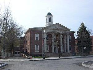 Chatham (village), New York - Tracy Memorial Village Hall, April 2009