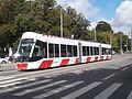 Tram 505 at Viru Stop in Tallinn 29 August 2015.JPG