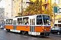 Tram in Sofia near Macedonia place 2012 PD 070.jpg