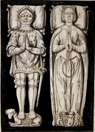 Louis II de la Trémoille - Louis II de la Trémoille and Gabrielle de Bourbon.