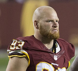 Trent Murphy - Murphy with the Washington Redskins in 2015