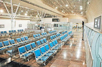 Tiruchirappalli International Airport - Waiting hall