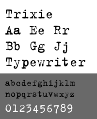 Trixie typeface.png