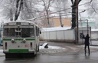 Dushanbe - Trolleybus in Dushanbe