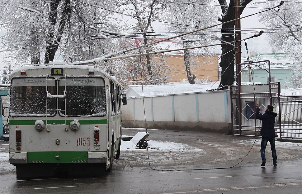 Trolley-Bus in Dushanbe