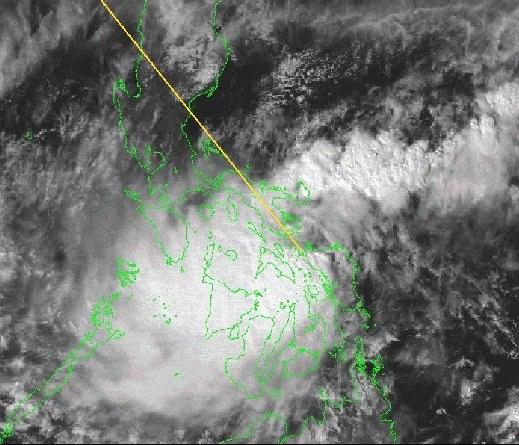 Tropical Storm Frankie 1999