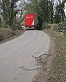 Truck on Firs Lane in Haseley, Warwickshire.jpg