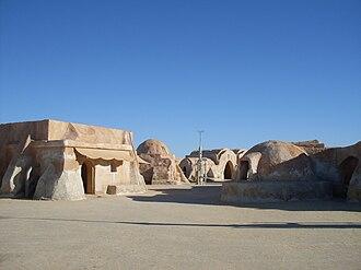Tatooine - Mos Espa filming location near Tozeur