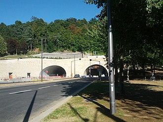 Tunnel de la Croix-Rousse - Image: Tunnel de la Croix Rousse Saone