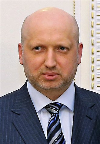 Oleksandr Turchynov - Image: Turchynov March 2014 (cropped)