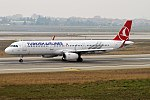 Turkish Airlines, TC-JSV, Airbus A321-231 (28175083879).jpg