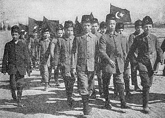 Scouting and Guiding Federation of Turkey - Turkish Boy Scouts, 1918