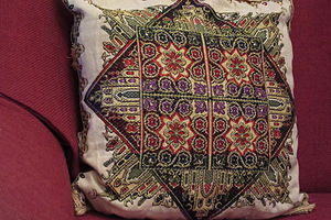 Pillow - An embroidered Turkish pillow
