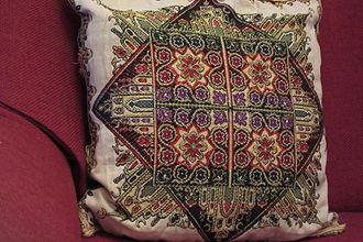 Pillow - An embroidered Turkish pillow