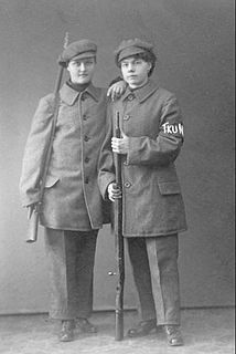 Female Red Guards of the Finnish Civil War Military unit