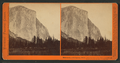 Tutocanula, or El Capitan, 3600 ft., from the foot of Mariposa trail. Yosemite Valley, Mariposa County, Cal, by Watkins, Carleton E., 1829-1916.png