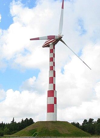 Tvind - The wind turbine at Tvind