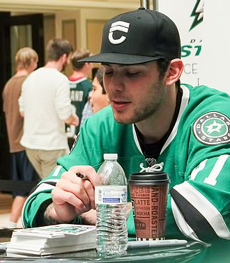 Galleria Dallas - Dallas Stars player Tyler Seguin signing autographs at Galleria Dallas in 2014
